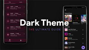 Dark Theme for your Android app ...