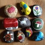 Поделки из камней поэтапно