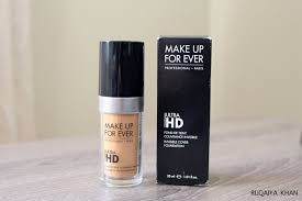 make up for ever ultra hd invisible cover foundation y345 review and swatch