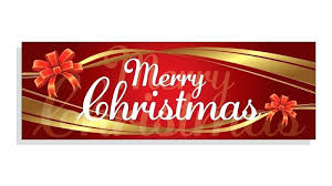 Merry Christmas Banner Zoom Printable Nativity Images Pics