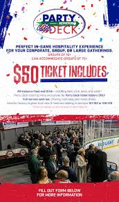 Rochester Americans Seating Chart Party Deck