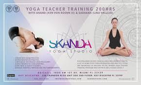 200 hours skanda yoga teacher