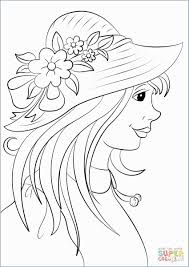 64 Marvelous Pictures Of Ladies Hat Coloring Pages Tourmandu Coloring