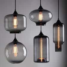 contemporary pendant lights wonderful black glass pendant light with mercury glass pendant light plus cylinder
