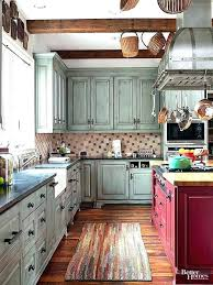 Blue Kitchen Ideas Stylish White And Blue Kitchen Cabinets ...