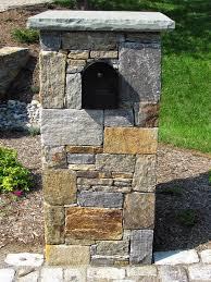 stone mailbox designs. Brick And Stone Mailbox Designs E