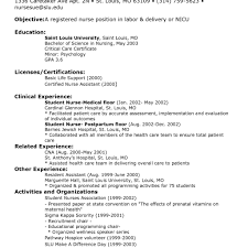 Example Rn Resume Sample Travel Nursing Free Template Inside Nurse ...