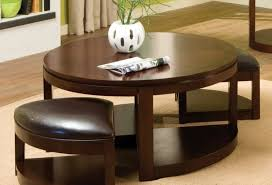 awesome round coffee table with 4 ottomans 28 about remodel interior designing home ideas with round