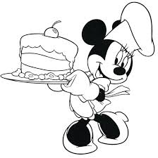Mickey Mouse Baby Coloring Pages On Baby Minnie Mouse Coloring Pages