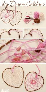 Dream Catcher Patterns Step By Step DIY How To Make a HeartShaped Dreamcatcher Lulus Blog 30