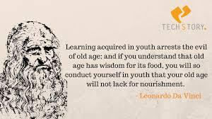 Leonardo Da Vinci Quotes Mesmerizing Learning Leonardo Da Vinci Quotes Never Exhausts The Mind TechStory