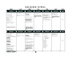 Army Resume Training Curriculum Template Free Army Outline Form To
