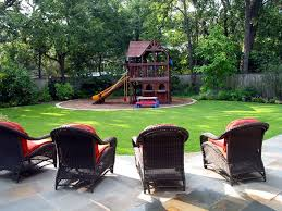 magnificent backyard playsets in landscape traditional with playground landscaping next to small yard alongside swing set and outdoor kids fort