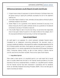 audit on compay company audit 13