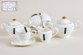 <b>Чайный набор КОРАЛЛ</b> 15пр CPT0116-A <b>Снежная</b> королева ...