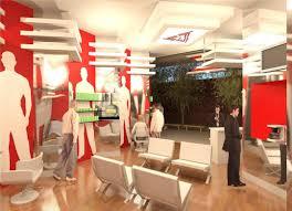 Small Shop Interior Design Ideas For Decor Boutique Barber Layout