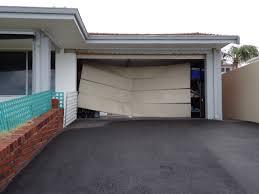 one of the best garage door accidents we ve seen