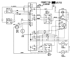 Wiring diagram for kenmore dryer in washer