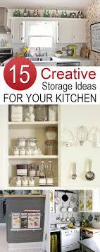 Creative Storage 15 Creative Storage Ideas To Give Your Kitchen An Organizational Boost