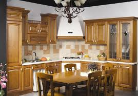 Classical Solid Wood Kitchen Cabinets Verona