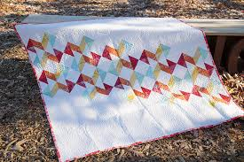 Meet the  Vintage Quilt Revival  Quilts: Geometric Slide ~ Fresh ... & Geometric Slide Quilt from pattern in Vintage Quilt Revival : Fresh Lemons  Quilts Adamdwight.com