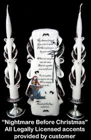 nightmare before christmas wedding ideas | ... the best in Unity Candles -  My