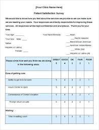 Customer Satisfaction Survey Template Excel Templateez Tk