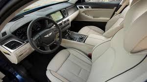 2015 hyundai genesis white. 2015 hyundai genesis 38 sedan interior seats white