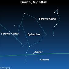 New Zodiac Sign Chart With Ophiuchus Ophiuchus 13th Constellation Of Zodiac Tonight Earthsky
