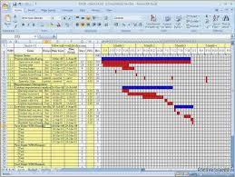 Awesome Gantt Project Planner Template With Microsoft Excel 2013