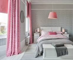2 laura ashley grey pink bedroom