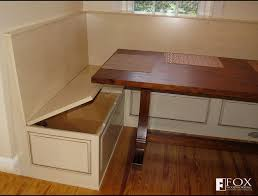 breakfast nook furniture. excellent bench storage under the breakfast nook fox woodworking intended for dining with popular furniture
