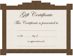 Gift Card Samples Free Giftsgiftcertificatetemplate 9