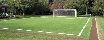 10YearOld With Muscular Dystrophy Gets U0027Fantasy Fenway Parku0027 In Football Field In Backyard