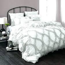 gray ruffle comforter silver bedding black duvet covers grey grey ruffle bedding