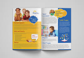 Brochure Design Ideas For School Project Colorful Playful Childcare Flyer Design For A Company By