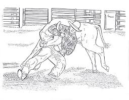 Small Picture Rodeo Horse Coloring Pages VBS Ideas Pinterest Precious