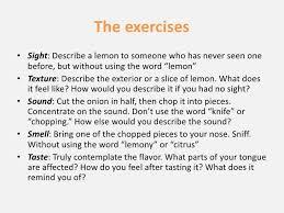essays using the five senses using the five senses in writing a descriptive essay