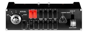 <b>Панель</b> Switch Panel от <b>Logitech G</b> для авиасимуляторов