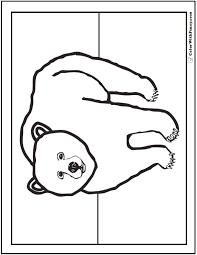 Small Picture A Grizzly Bear Coloring Page Is Exciting