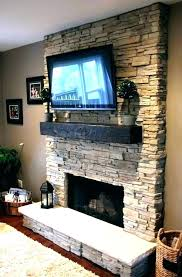 mounting above brick fireplace on living installing wall mount over tv for br