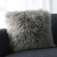 mongolian fur pillow. Delighful Mongolian Throughout Mongolian Fur Pillow L