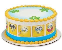 Spongebob Squarepantstm Many Faces Edible Image By Photocake