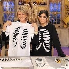 last minute costume diy skeleton or