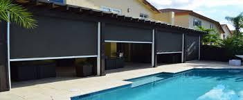 patio shade screen. 006 - Motorized Pool Side Patio Shade Screen