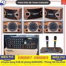 Thanh lý dàn karaoke gia đình gồm 3 CẶP 6 LOA BOSE A800 ME + đầy đủ cả Âm  li 506