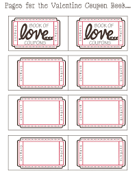 Mommy by day Crafter by night: {Free Printable} Valentine Coupon Book Friday, January 20, 2012