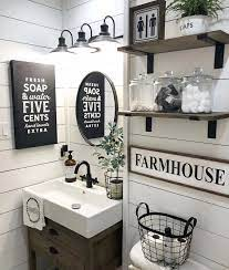 Cute Bathroom Decor Bathroom Farmhouse Style Farmhouse Bathroom Decor Small Bathroom Decor