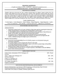 Security Clearance Resumes Hr Administrator Resume