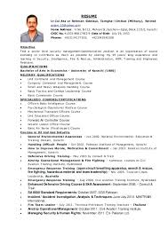 Military Officer Resume Peace Officer Resume Sales Officer ...